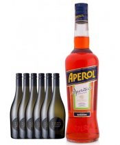 6x I AM Prosecco 750ml + 1x Aperol 700ml