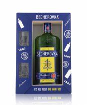 Becherovka + 2shot poháre 0,7l (38%)