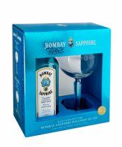 Bombay Sapphire Gin + 1 pohár 0,7l (40%)