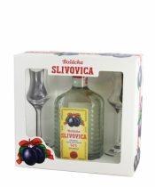 Bošácka Slivovica + 2 poháre 0,7l (52%)