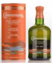 Connemara Irish Whiskey Turf Mor + GB 0,7L (46%)