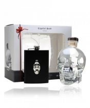 Crystal Head Hipflask Vodka + ploskačka 0,7l (40%)