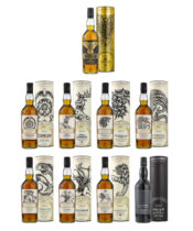 Game of Thrones Single Malt Collection 9x0,7L (40%-51,2%)