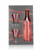 Goral Master Vodka + 2 poháre 0,7 (40%)