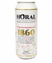Horal Premium Pilsner Lager 1l (11°)