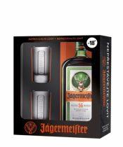 Jägermeister + 2 poháre 0,7l (35%)