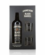 Jameson Black Barrel 0,7l + 2 poháre (40%)