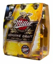 Miller Genuine Draft pack 6x0,33ml (4,7%)