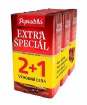 Popradská káva extra špeciál 3x250g